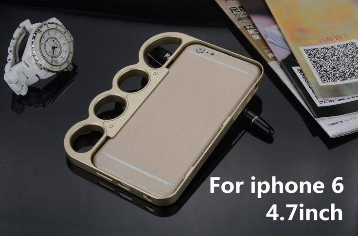 Brass Knuckles aluminium alloy metal case For iphone 6 (4.7inch)  full metal Knuckle Dusters //Price: $44.87 & FREE Shipping //     #dccomics  #cosplay  #catwoman #comiccon #comics #love #quinn #justiceleague #makeup