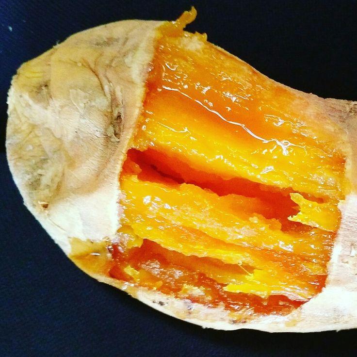 Baked honey sweet potato  Ubi cilembu madu asli