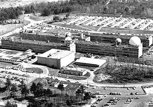 Lincoln Laboratory In 1956 Massachusetts Institute Of Technology Laboratory History