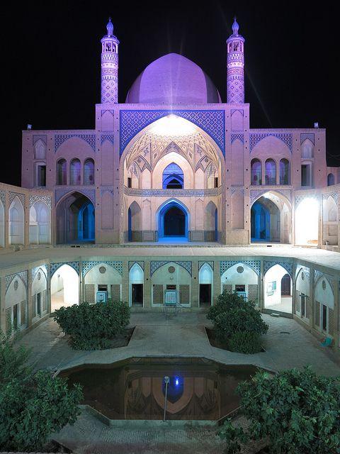Masjed-e Agha Bozorg Mosque . Kashan, Iran.
