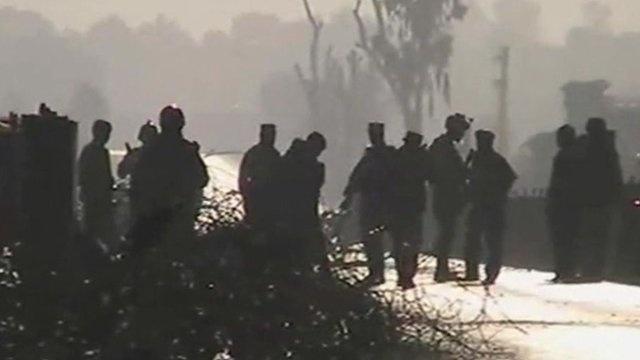 Afghanistan Taliban attack US base in Jalalabad