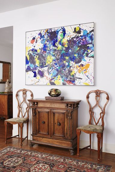 197 best Art in Interiors images on Pinterest | Loft, Loft ...