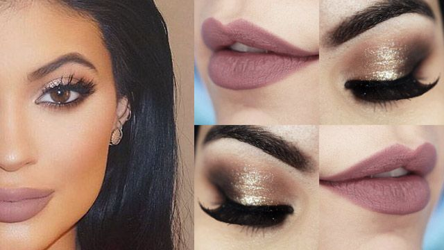 Makeup Tutorial Kylie Jenner com batom Hermione