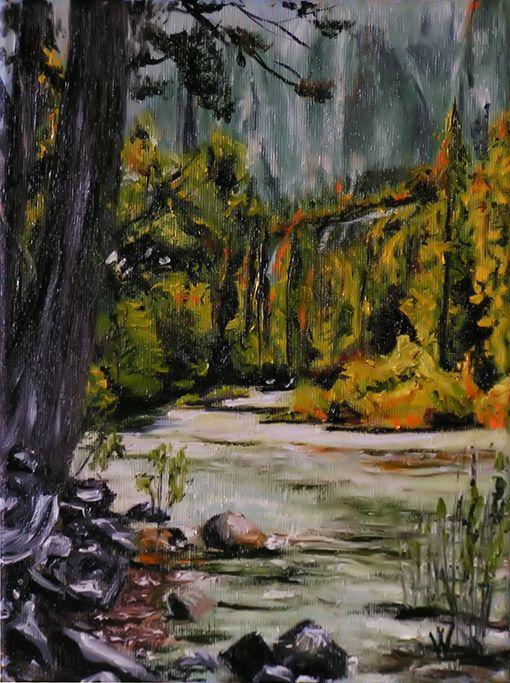 River. by methosw.deviantart.com on @DeviantArt