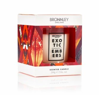 Bronnley Exotic Embers Candle