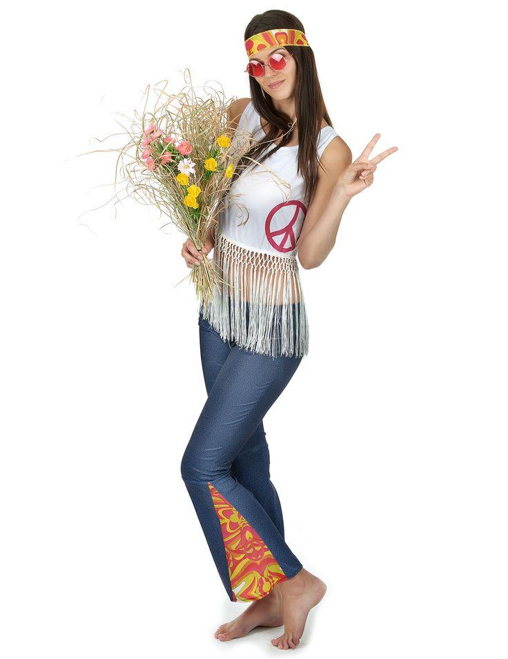 Costume stile hippie donna-1