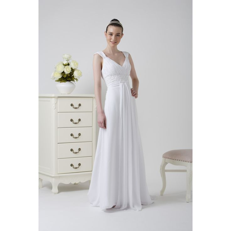 Amazing Simple Linen Wedding Dress : Simple Linen Wedding Dress8