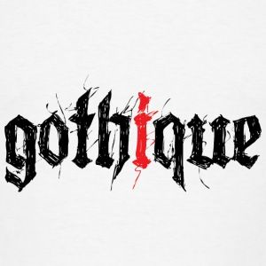 Gothique ! T-shirts - Mannen T-shirt