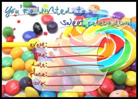 Free Printable Candyland Invitation Blank Template \u2013 orderecigsjuice