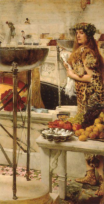 An Illustrator's Inspiration: Lawrence Alma-Tadema