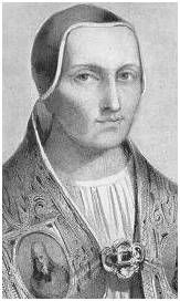 Pope Innocent III.This pope reportedly helped plan the murder of well over one million people during his papacy between 1198-1216.  Took the last land of John  King of England.