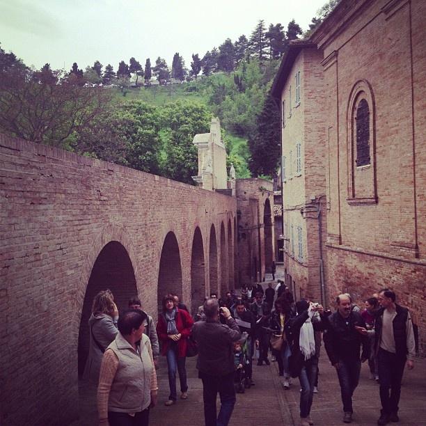 Inizia l'instawalk ad Urbino di @kikamariani #invasionidigitalimarche #invasionidigitali #marche #urbino #urbino2019 #italia #instawalkurbino #igersmarche #igersitalia
