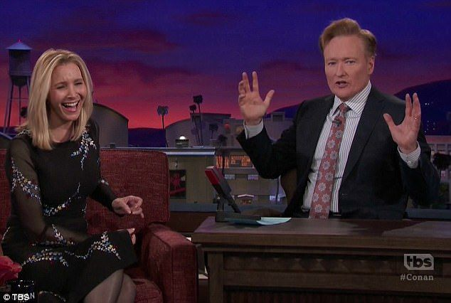 Lisa Kudrow slams viral Friends movie trailer on Conan  Nearly 40 million people have watched a Friends movie trailer but its a fake.  Lisa Kudrow visited Conan on Thursday where she slammed the trailer that was made by using various clips of her and her former co-stars projects.  I dont know what to make of it the 54-year-old told the TBS series host. Its just sort of these weird clips from things that clearly have nothing to do with Friends.  Having a laugh: Lisa Kudrow couldnt stop…