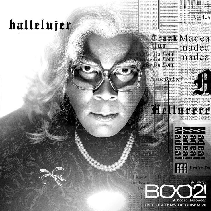 She's got a reputation… 😂 👻 Don't miss Tyler Perry's Boo2