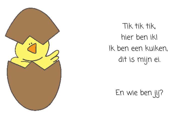 Peuterthema's: Kippen en eieren