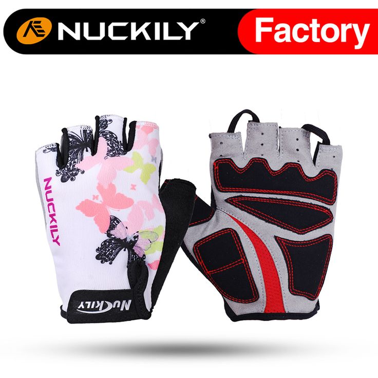 Nuckily mountain bike gloves Professional design cool quick dry Unisex half finger gloves for adults  N3558 #Affiliate