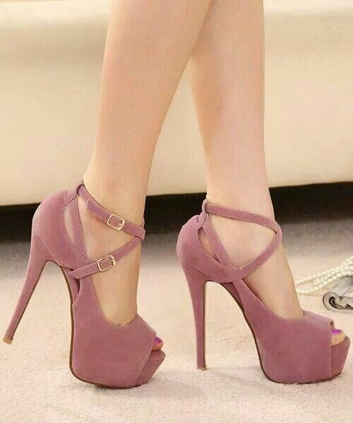 The right attitude with theperfect set of heels can achieve anything.