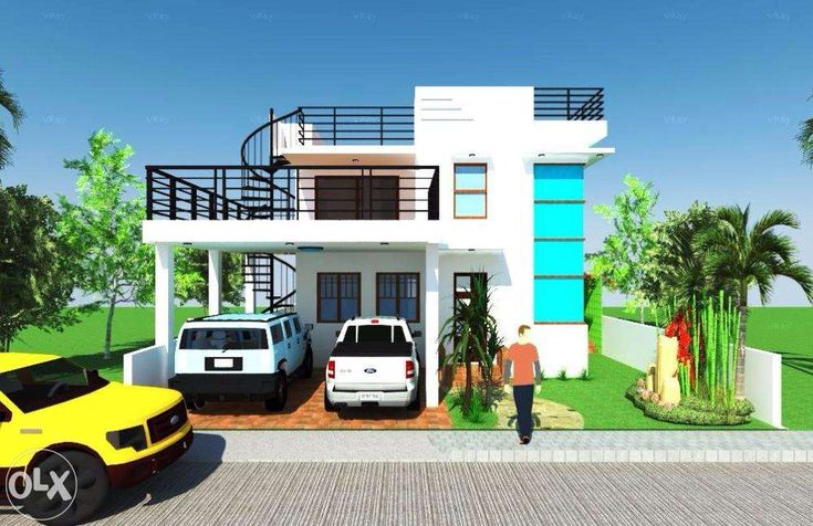 Roof Designs Ideas House House Roof House With Porch 2 Storey House Design Small house plans with rooftop terrace