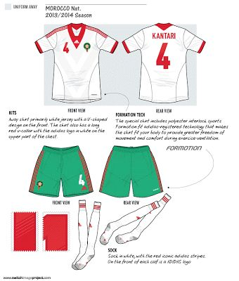 Morocco | away jersey | 2012