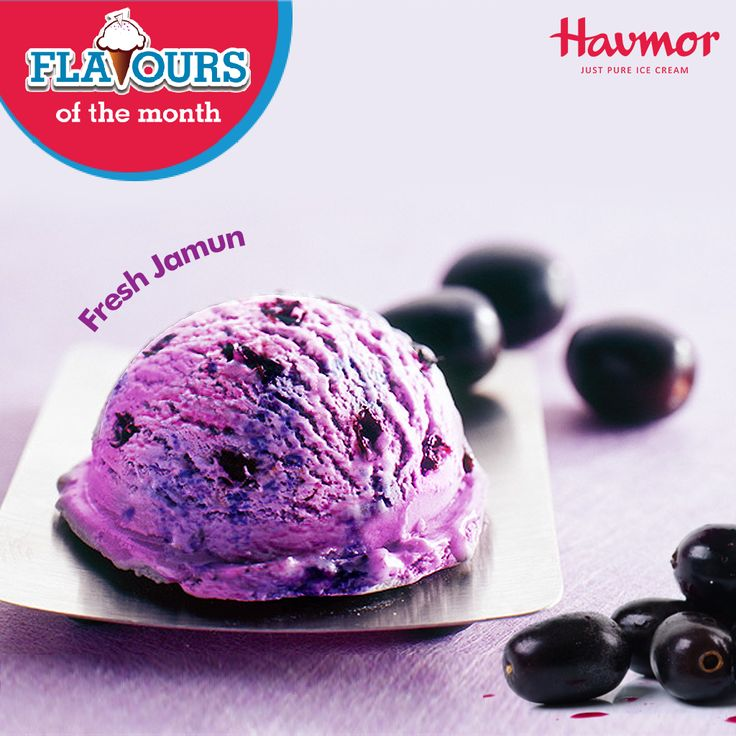 Real fruit pulp in every savoury slurp of the Fresh Jamun, and one can only #KeepCalmAndHavmor of this delicious Flavour of the Month!