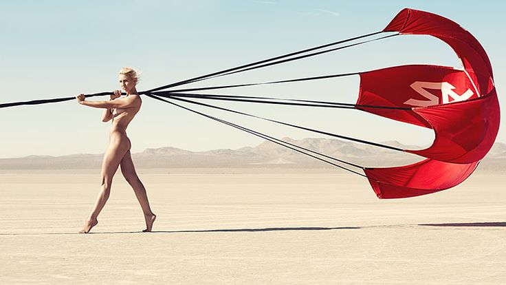 Funny Car drag racer Courtney Force strips down in 2013 Body Issue - ESPN The Magazine