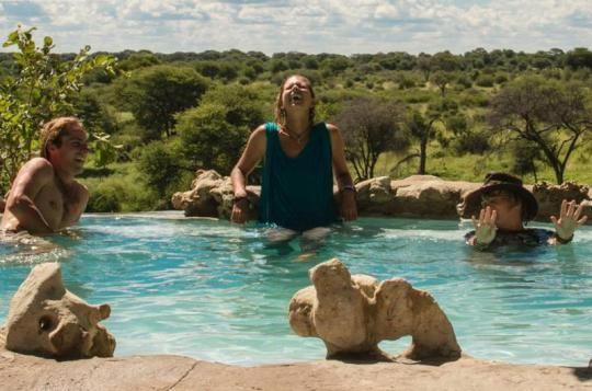 Pool area at Meno a Kwena Camp  (Makgadikgadi Pans, Botswana). Looks like a place you wanna go? Just let us know: info@gondwanatoursandsafaris.com
