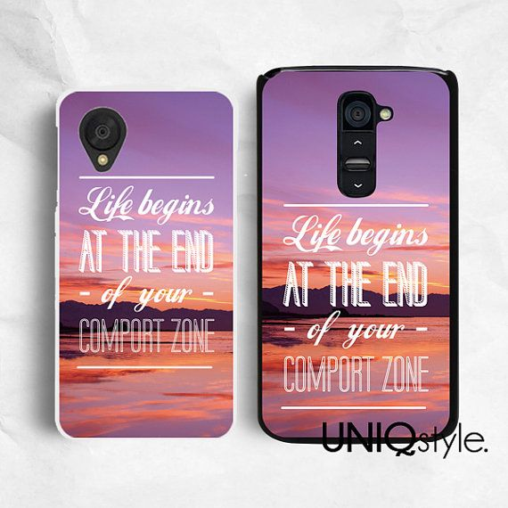 Life Quote case with sunset sky view for iPhone 6/6s iPhone 5/5s/5c
