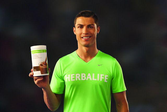 Herbalife: Cristiano Ronaldo uses Herbalife