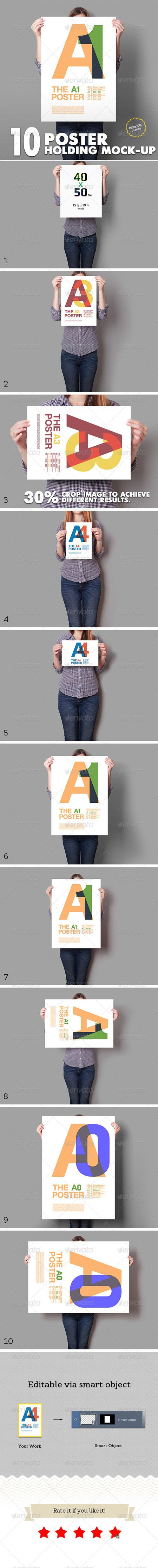 6 poster design photo mockups 57079 - Poster Mockup 10 Different Images 5788286 Free Special Gfx Posts Vectors Aep Projects Psd Web