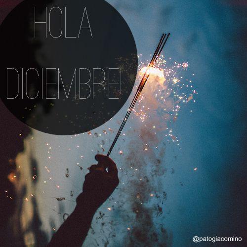 "#IDEAGENES 96 - ""HOLA DICIEMBRE"" #cita #quote #Concepto #ComunicacionVisual ( IDEAS EN IMÁGENES ) BY @PATOGIACOMINO"