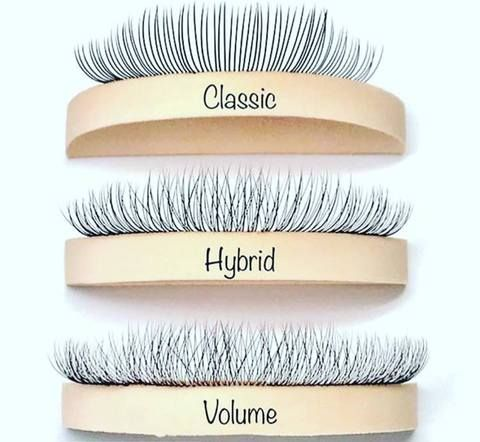 b15bed63355 16Rows All Size Russian volume False Mink Eyelashes, Silk soft Lashes  Extension Premium 3D Individual Lashes