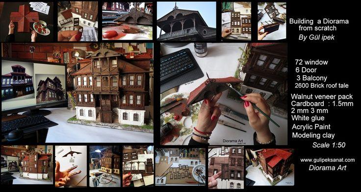 scale 1:50 Mudurnu armutçular konağı By Gül ipek DİORAMA #art #artist #arquitetura #mimari #gulipeksanat #painting #baraquestyle #mansion #konak #buinding #bolu #mudurnu #windows #armutçularkonağı #architeture #history #diorama #handmade #love #desiğner #tasarım #wood #paper #drawing #mywork #proje #arte #unıcef #tarihikonak #miniatures #old
