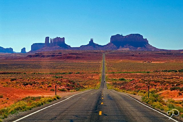 Long Desert Highway Series: Highway 163 from Mexican Hat to Monument Valley