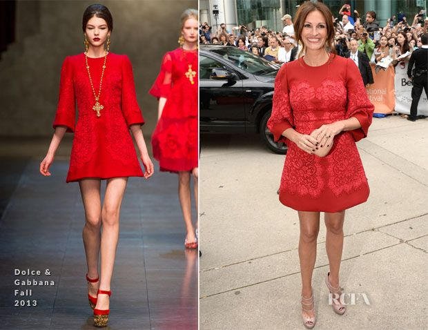 Julia Roberts In Dolce