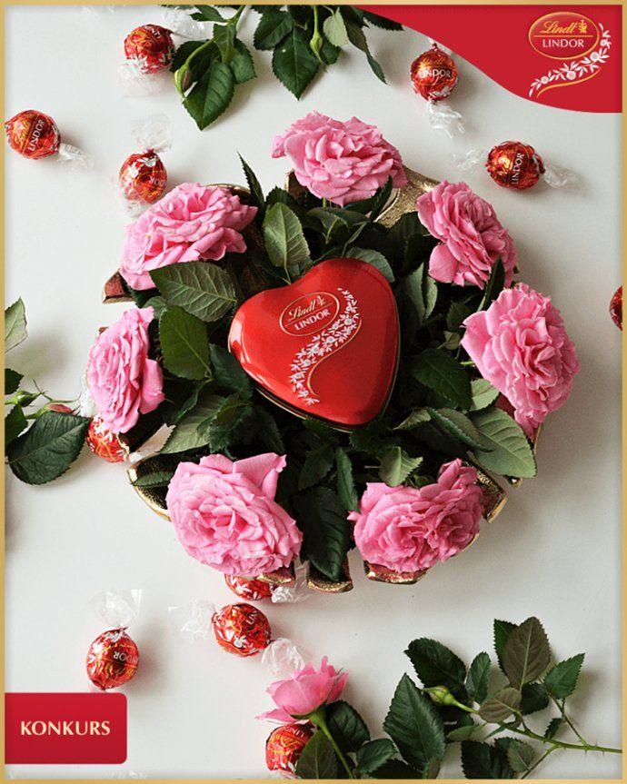 Konkurs Praliny Lindor Dla Mamy Floral Floral Wreath Decor