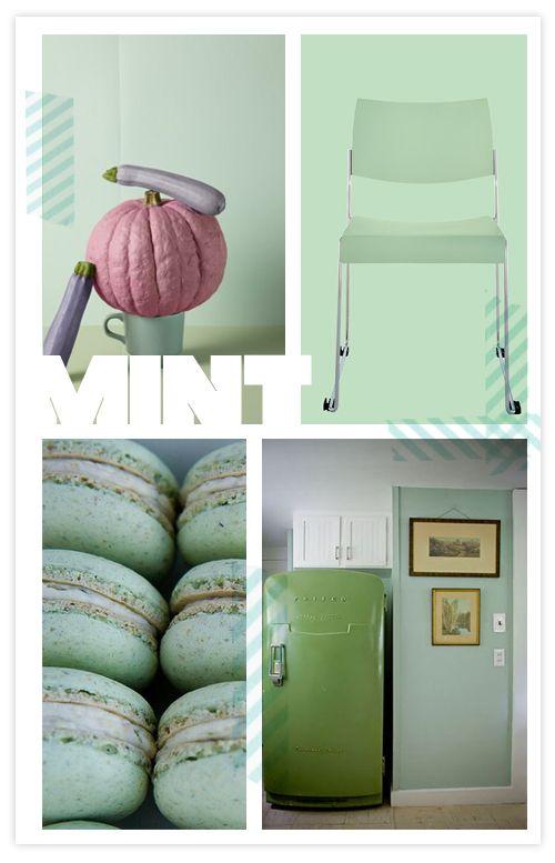 August S Coolest Colour Mint Colourrrr Pinterest