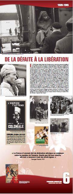 N°6 : De la défaite à la libération. En 1938, Georges Mandel, ministre des Colonies, annonce un plan de recrutement de travailleurs et de soldats, en prévision de la guerre. © Groupe de recherche Achac