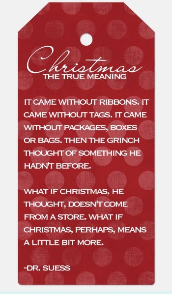 Love this tag for Christmas!  Create your own fun sign with Rendi!!!