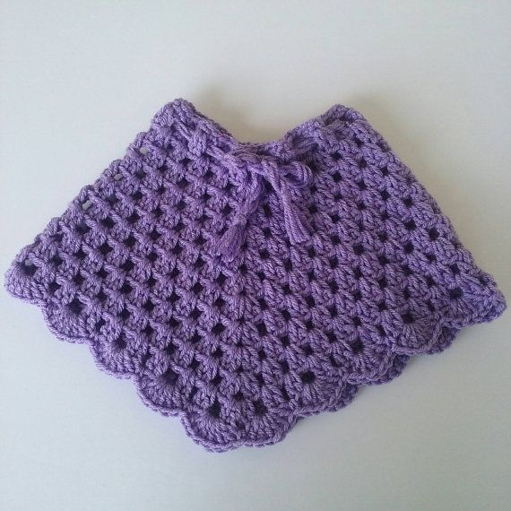 Crochet Baby Poncho Baby Poncho Capa Tejida De By