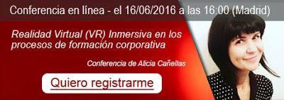 """All VR Edu: Webinar gratuito: """"Realidad Virtual (VR) Inmersiva..."""