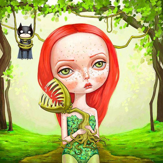 Poison Ivy by Melanie Schultz