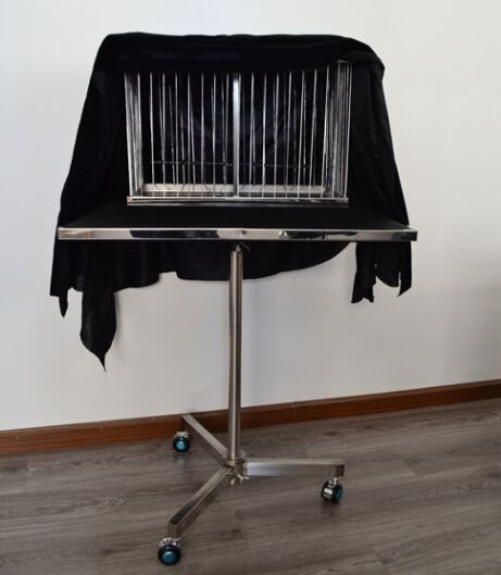 282.74$  Buy now - http://alib4t.worldwells.pw/go.php?t=32273148159 - vanishing dove cage Deluxe - magic tricks,gimmick, dove magic,illusions,stage magic,mentalism