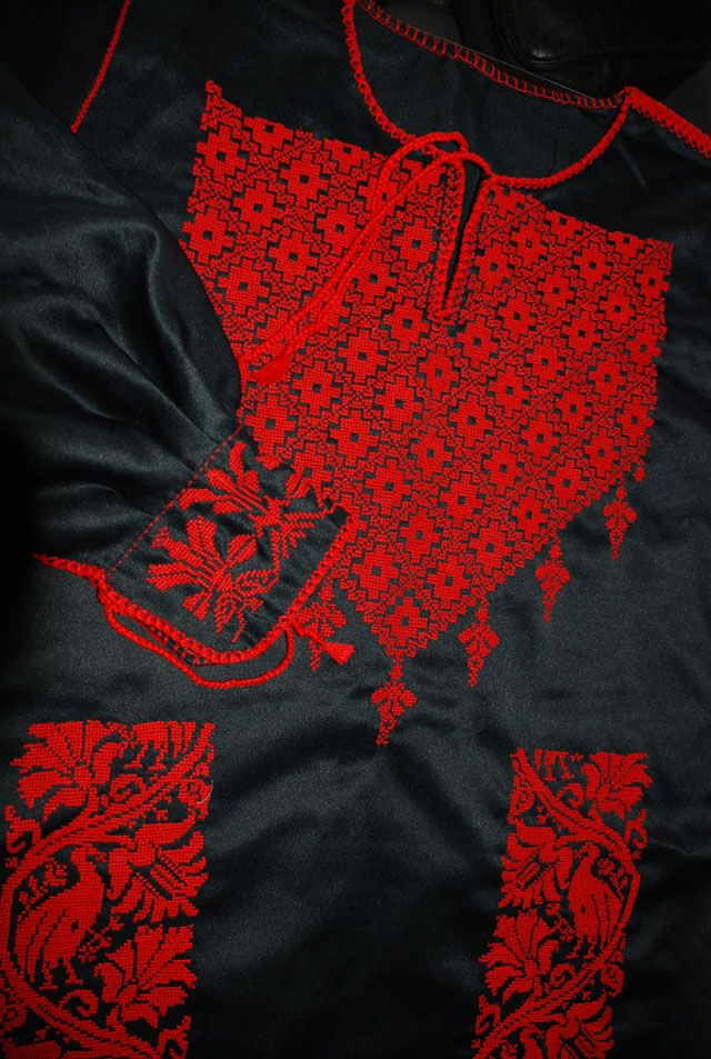 backofthebottomdrawer.com. Hand Embroidered Bedouin Wedding Dress