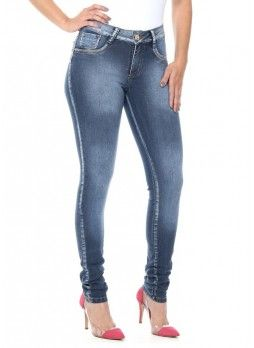 Jeans push-up brasiliani Sawary vita medio-bassa cod. 242199