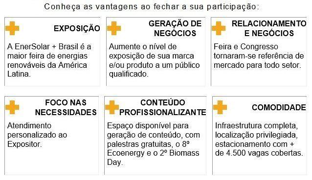 Se você procura negócios inovações e networking venha para a principal feira de tecnologias para energia solar!! . .  A EnerSolar  Brasil é o ponto de partida para empresas que buscam oportunidades exclusivas antes durante e depois o evento.  . . Garanta a sua participação converse com a nossa equipe comercial e reserve o seu estande!  Link na Bio