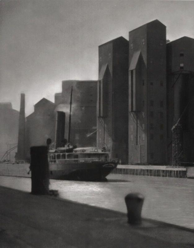 Los Angeles docks by E.O. Hoppé c1925.