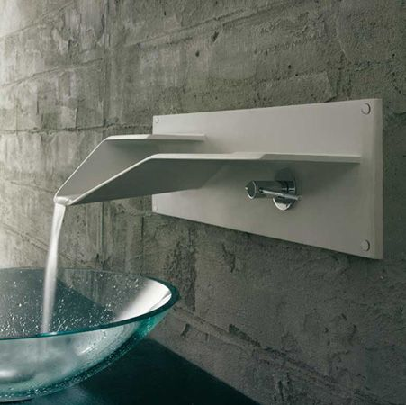 Designer Bathroom Sinks Basins 47 Best Modern Bathroom Waterfall Taps Images On Pinterest