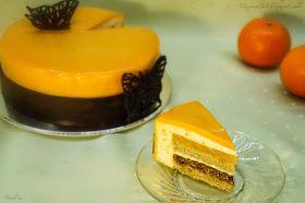 """Этот торт, который можно смело назвать """"Мандариновый мандарин"""")), объединяет в себе два замечательных торта: Торт """"Mandarino"""" от E..."""
