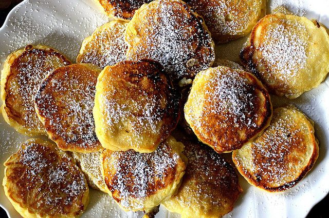 apple latkes/pancakes by smitten, via Flickr