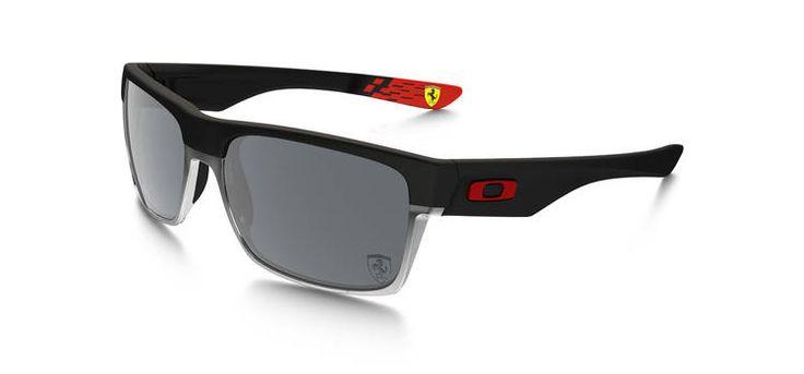 Oakley Special Edition Scuderia Ferrari® TwoFace - Matte Black/Black Iridium